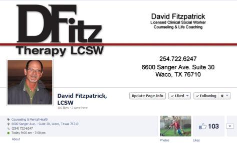 David Fitzpatrick  LCSW